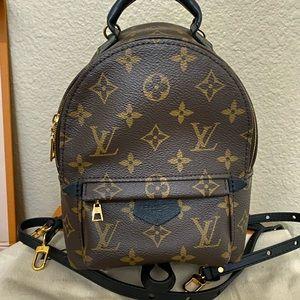 Authentic Louis Vuitton Palm Springs Mini